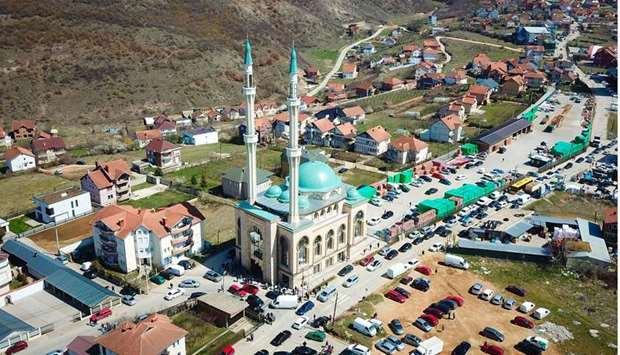 Qatar Charity participates in Kosovo's largest mosque inauguration
