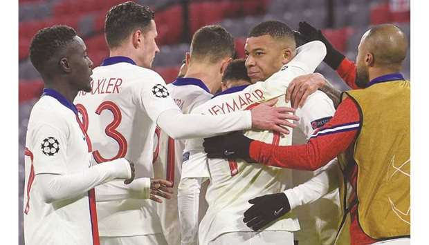 Bayern Munich will have their work cut out trying to neutralise the threat of PSG forward Kylian Mba