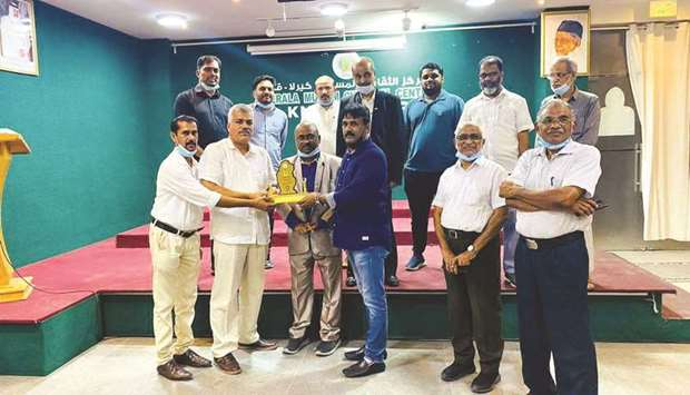 Kerala Muslim Cultural Centre (KMCC) state sports wing recently bade farewell to Kunjumon Klary, KMC