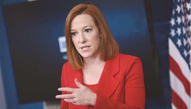 Psaki: Biden 'has been consistent in his view that there's not a military solution to Afghanistan, t