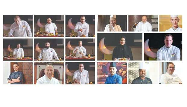 "The Chefs of Qatar virtual food festival, which began on April 1 and running until May 12, ""aims to"
