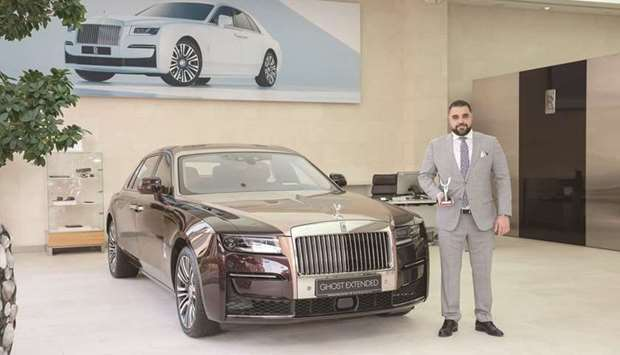 Rolls-Royce Motor Cars Doha won the 'Engage' category at the Rolls-Royce Motor Cars Regional Dealer