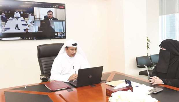 The agreements were signed through video conference technology.