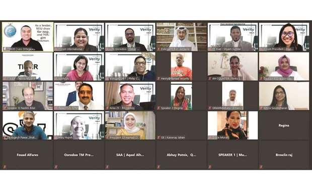 Toastmaster International's District 116 – Qatar – Area 25 recently conducted a virtual confluence m