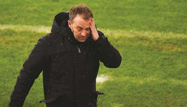 Tensions have been simmering behind the scenes at Bayern Munich between head coach Hans-Dieter Flick