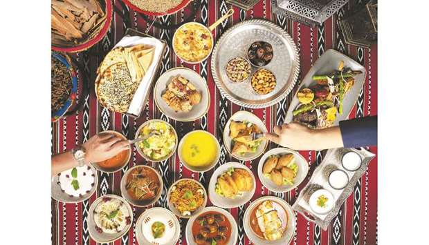 An Iftar box from Caprice.