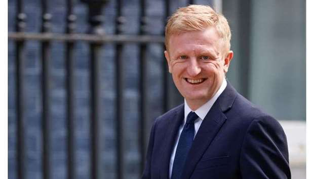 (File) Britain's Secretary of State for Digital, Culture, Media and Sport Oliver Dowden (REUTERS/Joh