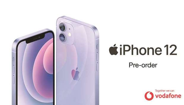 Vodafone opens pre-orders for new purple iPhone 12, iPhone 12 Mini on Friday