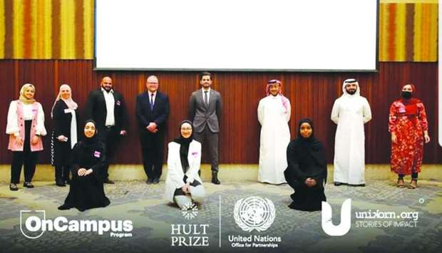 QU students shortlisted for the award.