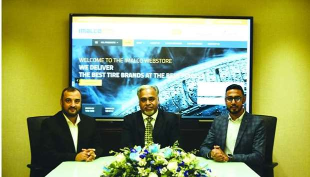 Officials at the launch of Imalco Webstore.