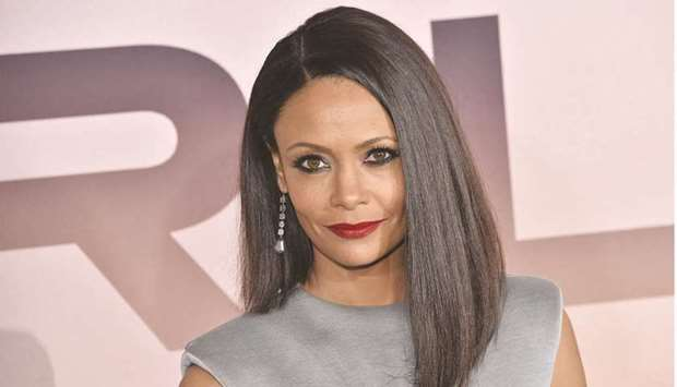 British actress Thandie Newton