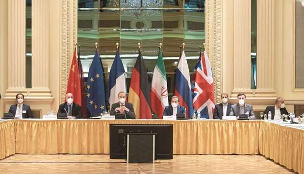 """Iran and world powers held what they described as """"constructive"""" talks yesterday and agreed to form"""