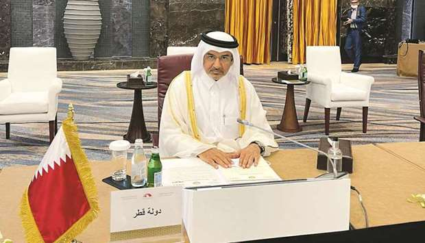 The Shura Council was represented in the meeting by HE Member of the Council Mohamed bin Mahdi al-Ah
