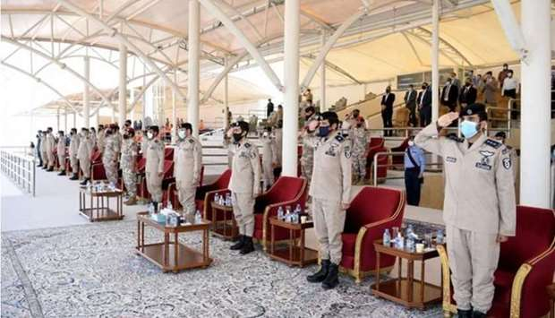 On the sidelines of the final exercise, the Institute launched the references for military and sport