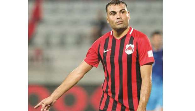 The 34-year-old Mercado, who joined Al Rayyan two years ago, picked up the injury during their 2-1 d
