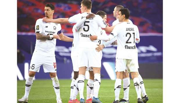 Lille's operating budget is understood to be around a quarter of reigning champions Paris Saint-Germ