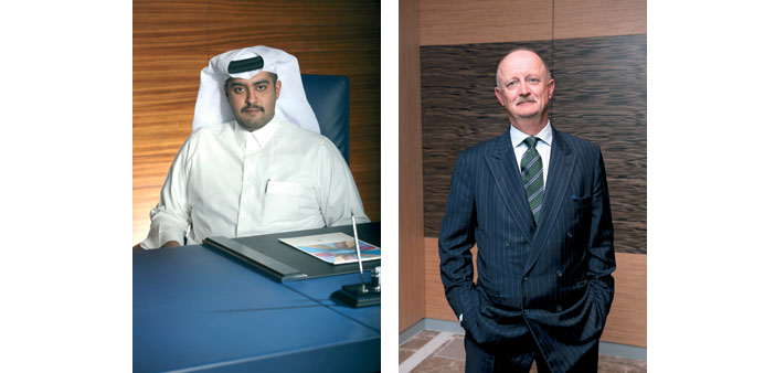 Sheikh Mohamad and Troop: Looking forward to further growth.