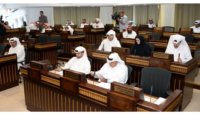 A moment from the meeting hosted by the Central Municipal Council