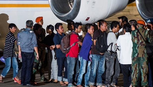 Indonesia hostages