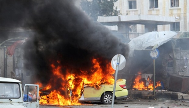 Explosions hit the Syrian city of Tartous