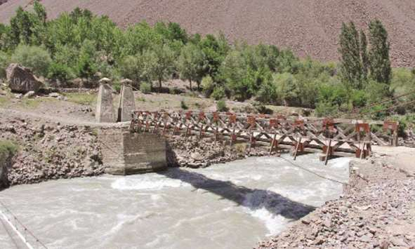 British-era bridge going strong in Pakistan
