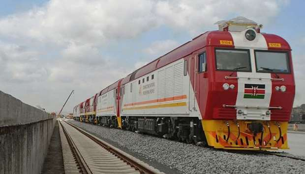 Kenya unveils first new railway in a century