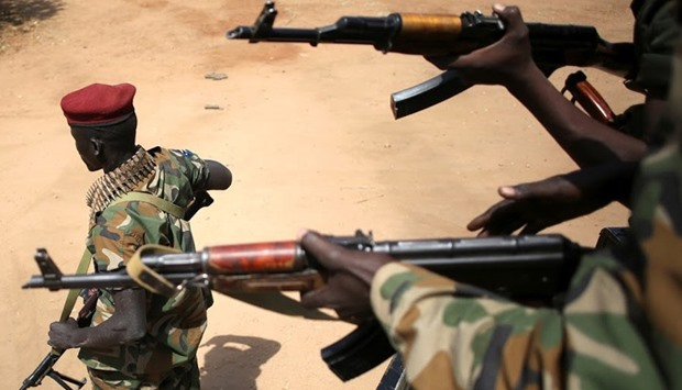 South Sudan says divisive army chief of staff removed