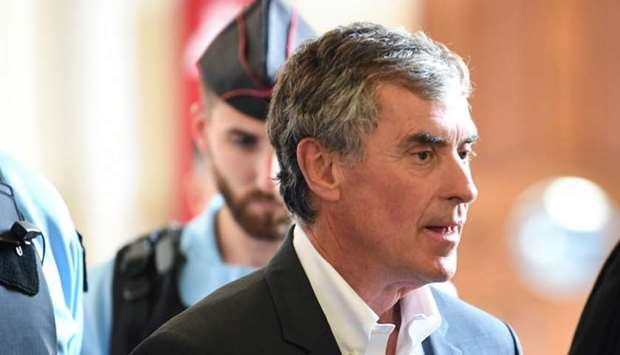 Former French budget minister Jerome Cahuzac