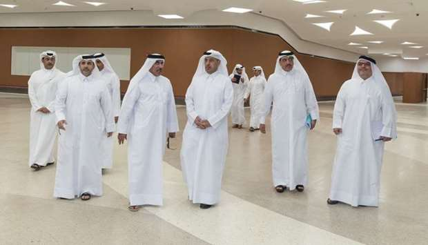 PM visits Doha Metro project