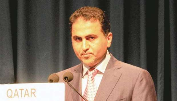 Qatar's ambassador to the United Nations, Ali Khalfan al-Mansouri