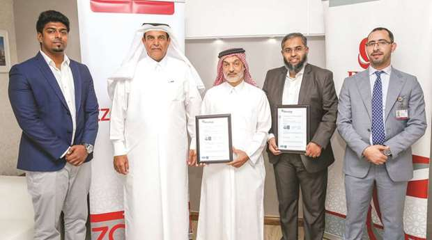Ezdan Holding subsidiaries get ISO 9001:2015 certification