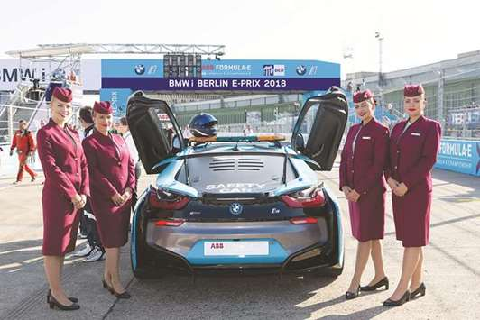 Qatar Airways is Official Airline Partner of Berlin E-Prix