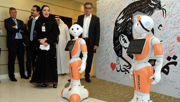 Al Khaliji bank launches first humanoid robots in Qatar