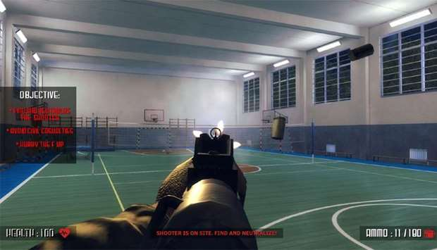 The game 'Active Shooter'  by Valve Corp