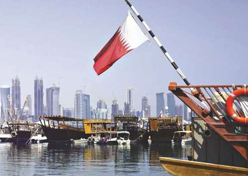 'Qatar economy weathering year-old blockade'