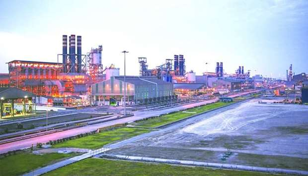 The Qatalum plant at Mesaieed. It is expected that the necessary procedures and approvals will be ta