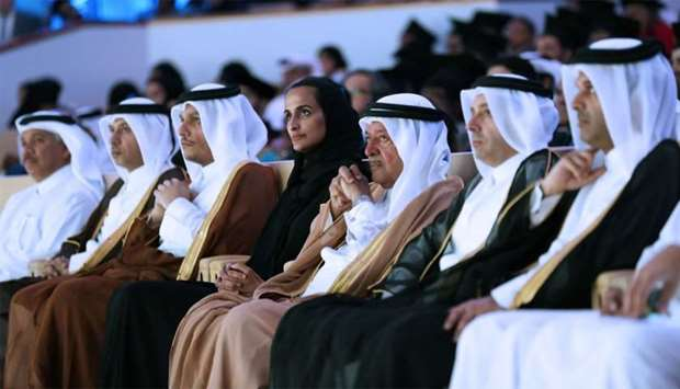 QF vice chairperson and CEO and HBKU board of trustees chairperson HE Sheikha Hind bint Hamad al-Tha