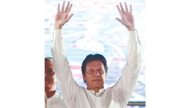 Imran Khan: represents Pakistan's best hope for structural reform, according to the Exotix Capital r