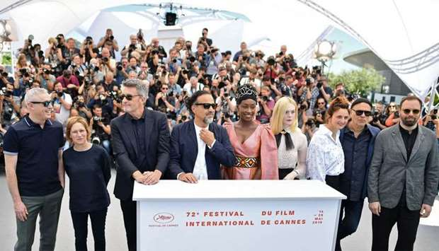 (FromL) French director and member of the jury of the Cannes Film Festival Robin Campillo, US direct