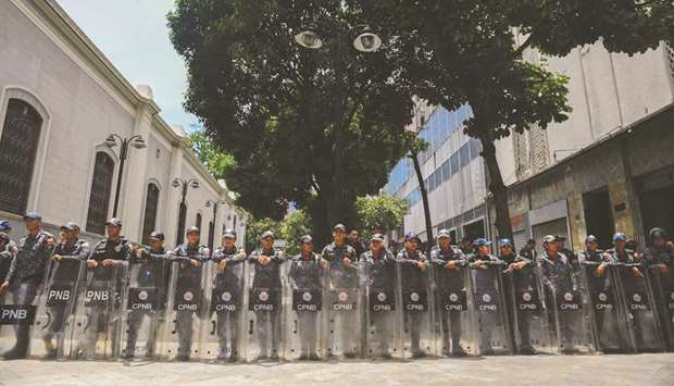 Venezuela's Bolivarian National Police