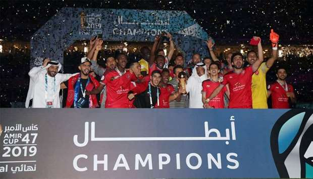 Edmilson star of the show as Duhail lift Amir Cup again