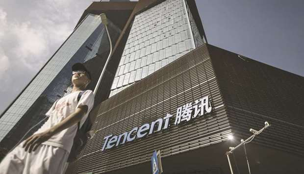 Tencent Holdings and Alibaba Group