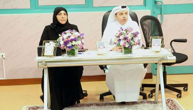 HE the Minister of Education and Higher Education Dr Mohamed Abdul Wahed Ali al-Hammadi during his v