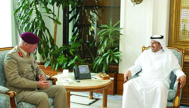 PM meets UK's top defence official
