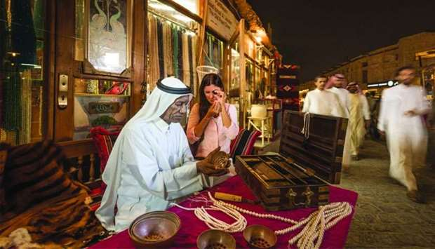 Souq Waqif is expected to attract a large number of visitors during the 'Summer in Qatar' programme