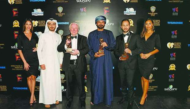 "At the 2019 World Travel Awards Middle East ceremony held recently, Oman Air was named the ""Middle E"