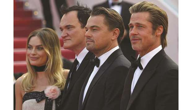 Tarantino strikes Cannes gold with 'best movie in years'
