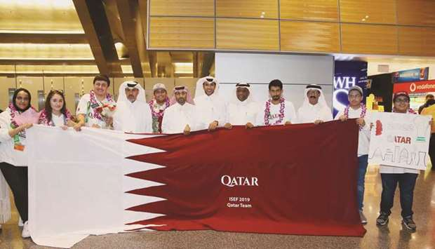 Students from Qatar shine in Intel contest