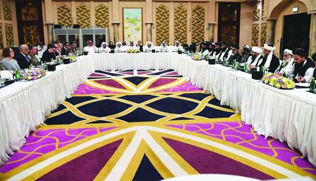 US and Taliban delegations attend talks in Doha