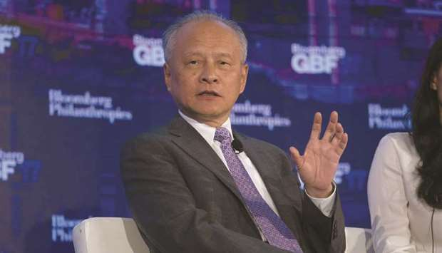 China is ready for further US trade talks, says ambassador